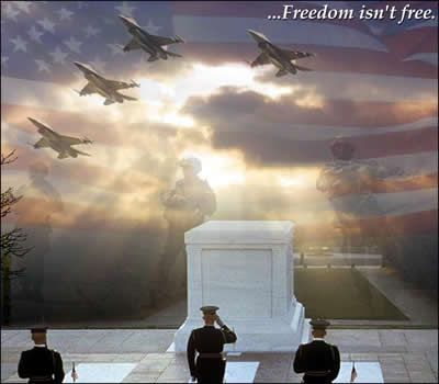 Tomb of Unknown Soldier - Freedom